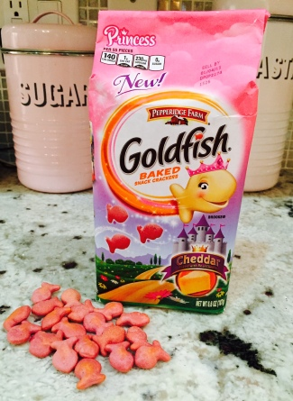 pink princess goldfish