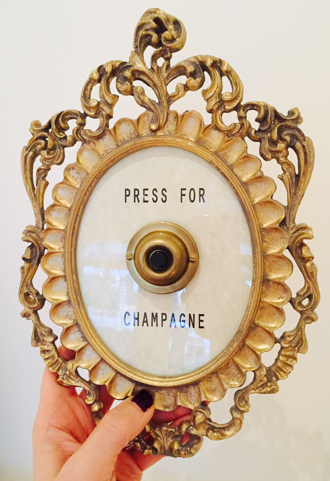 Press For Champagne Lace And Lollipops