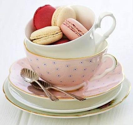 teacup macarons