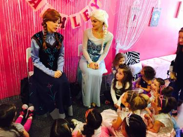 anna and elsa birthday party