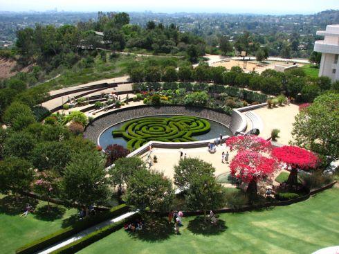 Getty Museum Garden