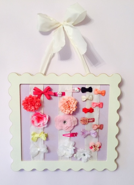 baby hair clip holder