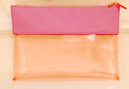 Clear baby diaper  pouch