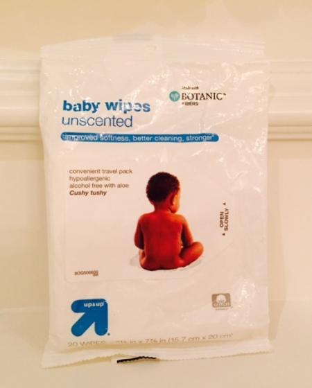 travel baby wipes