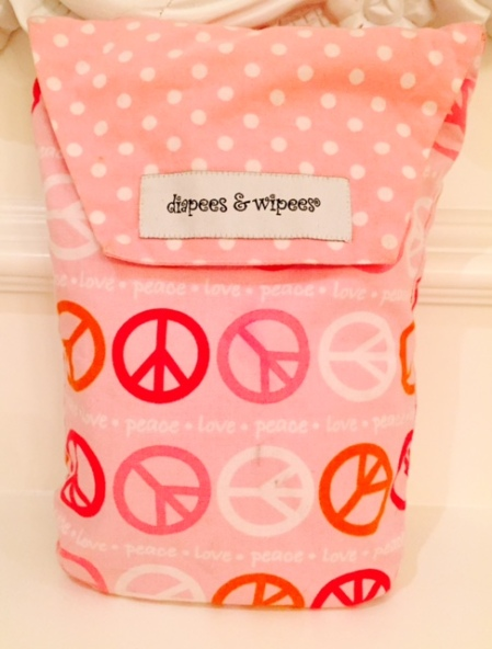 diapees and wipees pouch