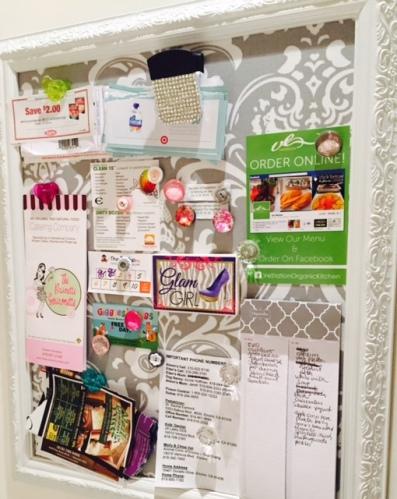 kitchen magnet board