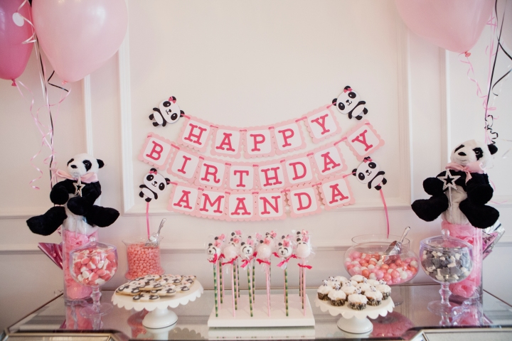 Amanda Panda's 1st Birthday Party!