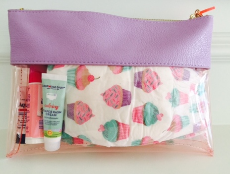 cute diaper pouch caddy
