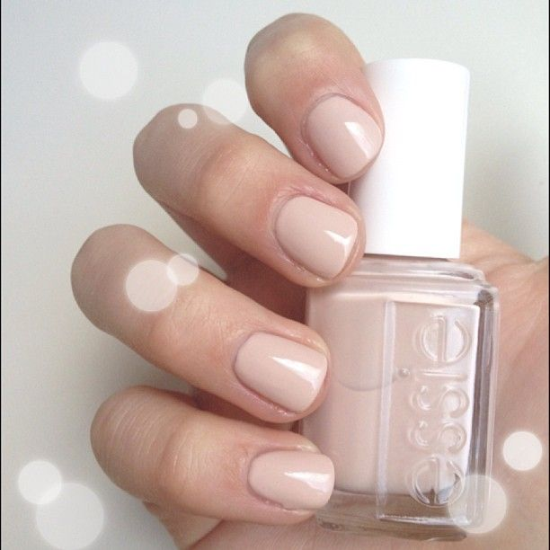 The Perfect Nude Nail: Essie Topless AndBarefoot