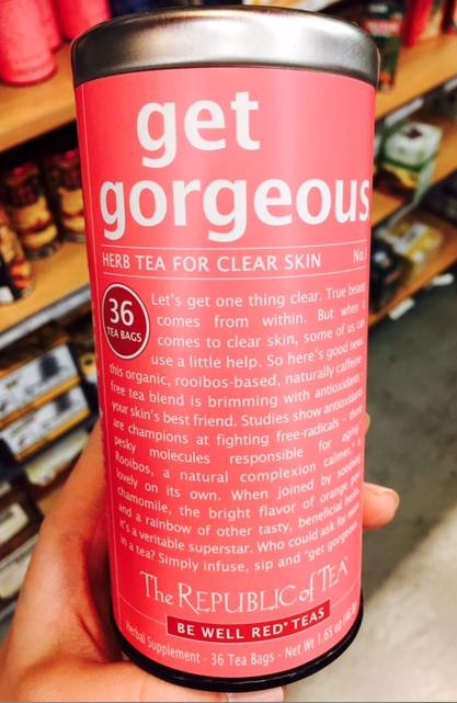 tea for gorgeous clear skin