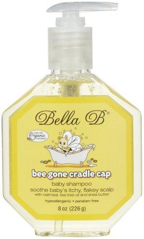 bella b best cradle cap shampoo