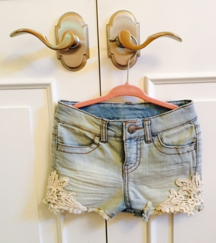 cute denim jean shorts for girls
