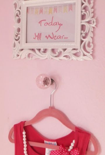 cute girls room idea