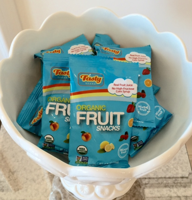 tasty brand organic fruit snacks for kids