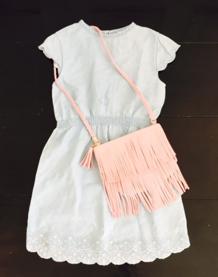h and m kids girls dress and purse