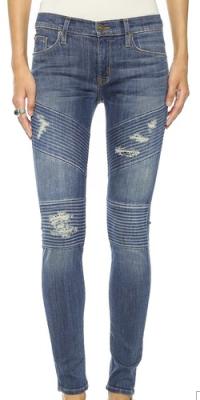 Hudson Moto Skinny Jeans