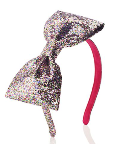 kate spade kids girls glitter bow headband