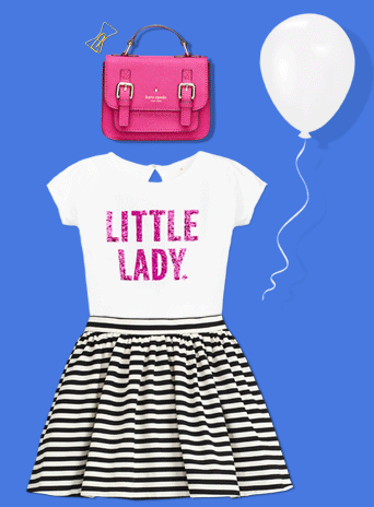Kate Spade Launches Kids Clothes And Accessories. Adorable!