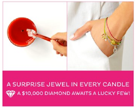 Bella J Jewelry Candle Win A Diamond