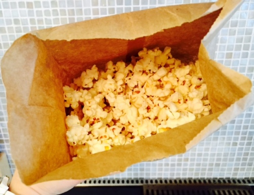 fluffy popcorn