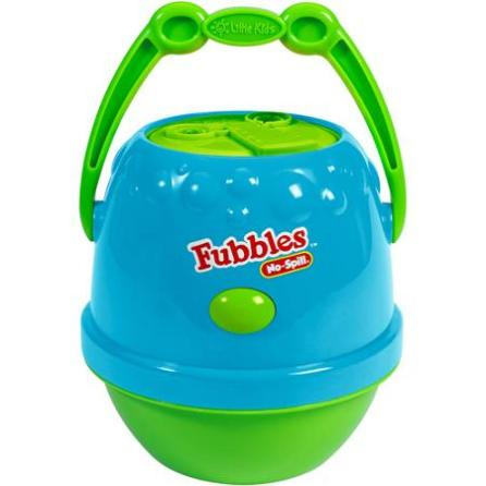 No spill bubble machine