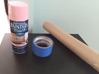 spray paint supplies diy
