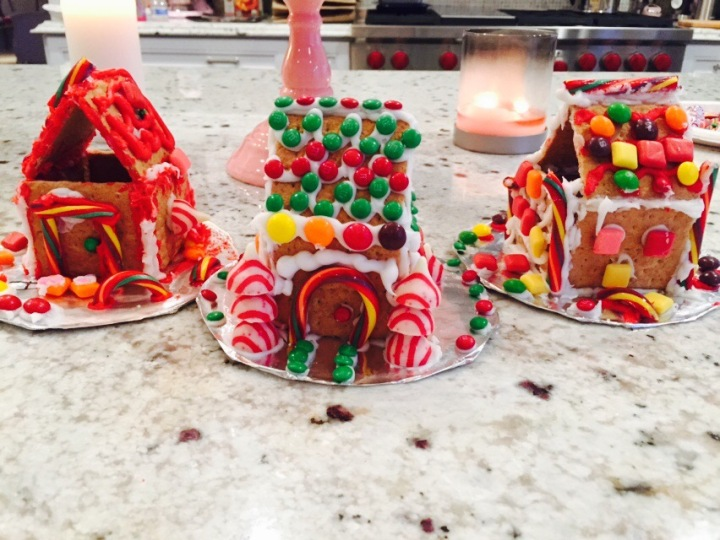 Holiday Gingerbread Houses – Check!