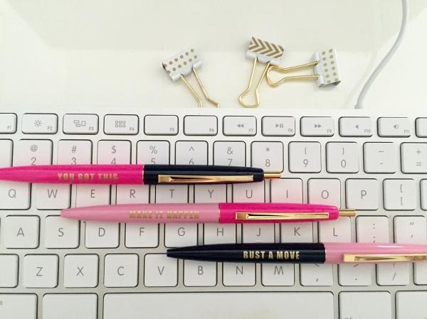 Motivation Pen Set