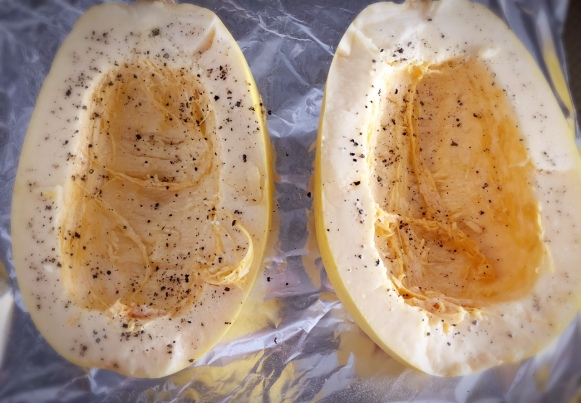 how to make spaghetti squash