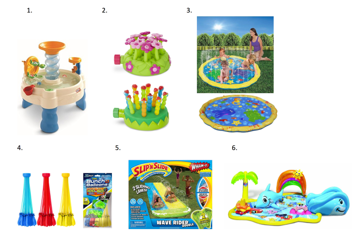 6 Fun-Tastic Water Play Toys For Kids