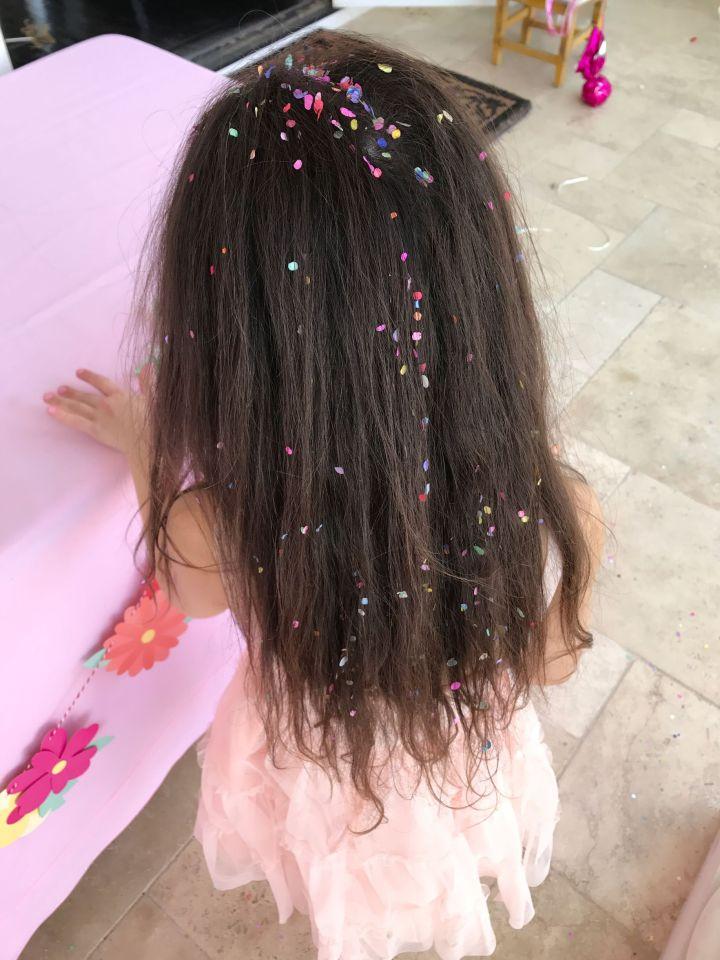 Hair Confetti